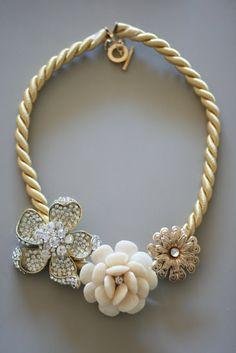 Anthro DIY Marjorelle Necklace - 17 Wonderful DIY Jewelry Tutorials