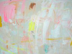 Jenny Andrews-Anderson, glazed donut  36 x 48 acrylic on canvas