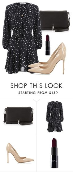 """""""Untitled #5243"""" by beatrizvilar on Polyvore featuring Elizabeth and James, Zimmermann and Gianvito Rossi"""