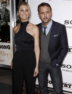 Faith Hill and Tim McGraw.  Married 18 years.