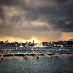 Expecting rainshowers #3minslater #stockholm #södermalm #katarinakyrka #travel #ttot #sweden