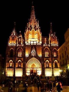 This is a picture of The Fira de Santa Llucia Christmas Market in Barcelona. It is one of the oldest Christmas markets in Europe. The first official mention of this market was in 1786, but may be much older. It is a part of the rich culture and traditions of Barcelona.