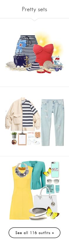 """""""Pretty sets"""" by krgood7 ❤ liked on Polyvore featuring pizzaislife, Jil Sander Navy, LE3NO, Chiara Ferragni, Hobbs, Derek Lam, Kate Spade, Fornash, H&M and Monki"""