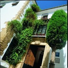 Hotel San Gabriel in Ronda, Spain-When visiting these little towns & villages, it's idea to stay in the small charming places instead of a chain or larger hotel. Enjoy all aspects of your travels. Ronda, Spain, the most amazing and coziest little hotel, love it!