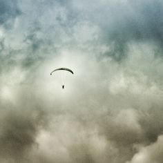 #Followed by #clouds in #pokhara - #lovenepal  #flying #wind #paragliding #travel #adventuresport #stormiscoming