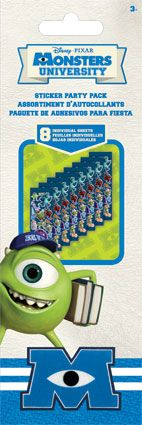 Monsters University - Sticker Party Pack