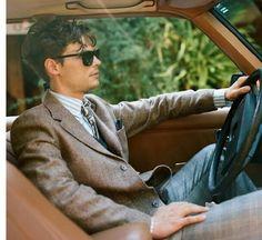 Baby you can drive my car!  Matthew Gray Gubler