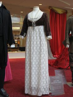from Sense and Sensibility 1995  Elinor wears at Marianne's wedding