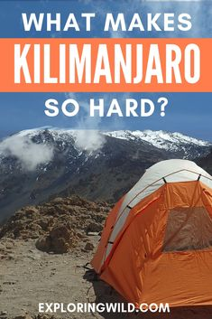 Thinking about climbing Kilimanjaro and wondering how hard it actually is? Read this story from an experienced hiker and learn why she found the summit push harder than expected. #kilimanjaro #africatravel #hiking