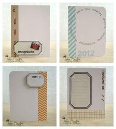 DIY journaling cards
