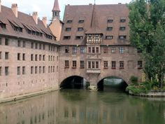 Quiet Backwater of the Old Town, Nuremberg