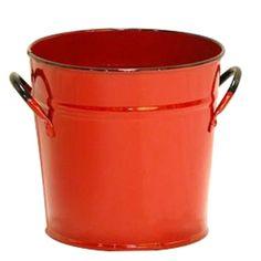 Fireside Home - K-117 Red Enamel Pail  #tinware #vintage #homedecor #homeaccent #gift #decor (http://www.firesidehome.ca/k-117-red-enamel-pail/)