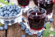 Heidelbeerlikör - Rezept
