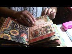 French Country Graphic 45 PreMade Scrapbook Mini Album - YouTube
