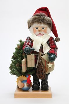Christian Ulbricht Nutcracker - Rustic Santa Claus Limited (47cm/19in) by…