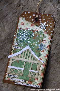 Juletag, scrapping.no, by Wenche, Marianne design