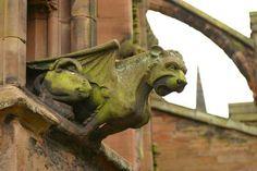 Gargoyle, Lichfield Cathedral