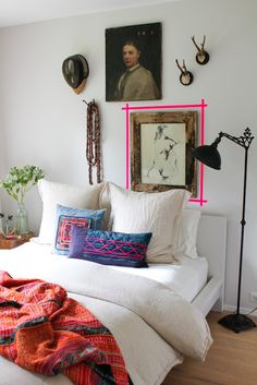 Love this room except for the mounted antlers. I don't like animals used in any way.