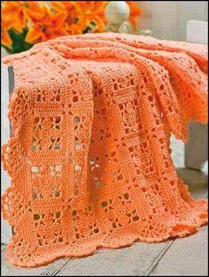 Jolie couverture orange!