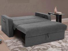 Um lindo sofá cama para sua casa, unindo útil de moderno! ;)