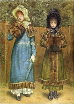 Children - Paintings of Kate Greenaway