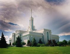 Mount Timpanogos LDS Temple by Nate A, via 500px