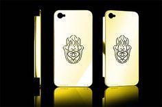 Cover iPhone 4 e 4s argento e oro