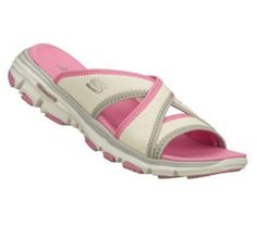 Women's Skechers Bravos - Outshine - PinkWhite