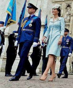 The Duke and Duchess of Cambridge attend the service to mark the Centenary of the Royal Air Force    10 July 2018