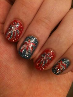 Want it on pinterest bow rings pink sapphire ring and for 4th of july nail art decoration flag