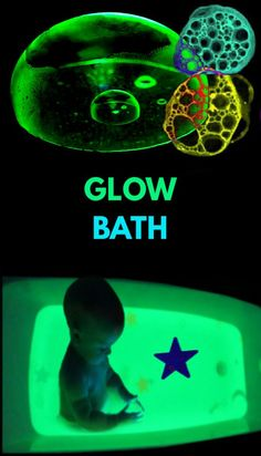 Send kids to outer space, and make their bath water GLOW! #glowinthedark #glowingbathwater #outerspacecraftsforkids #howtomakewaterglow #growingajeweledrose Educational Activities For Kids, Science For Kids, Outer Space Crafts For Kids, Kids Crafts, How To Make Water, Bath Water, Slime Recipe, Kids Bath, Family Meals