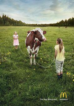 grafiker.de - Print-Ad: So entsteht der Milchshake bei McDonald's