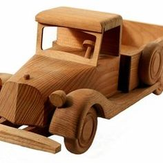 Camión de madera hecho en casa | eHow en Español