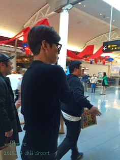 Lee Min Ho at Auckland International Airport and Incheon International Airport - 07.02.2015