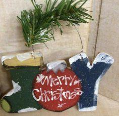 Joy sign wood craft