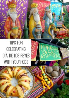 Information about the holiday and tips on how you can celebrate Día de los Reyes (Three Kings Day) with your kids on January Mexican Christmas, 12 Days Of Christmas, Winter Christmas, Christmas Ideas, 3 Kings Day Crafts, 3 Reyes, Epiphany Crafts, Holidays Around The World, Three Wise Men