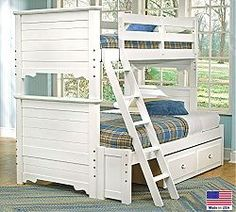 A great childrens set made of sturdy pine. The Cottage Colours Collection has a variety of beds, dressers, mirrors and storage pieces to choose from. A wide variety of colors allows you to mix and match, giving you the freedom and flexibility to find the Authentically American design that is perfect for your home