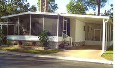 Enclosed porches mobile homes and the front on pinterest for Mobile home enclosed porch
