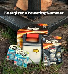 Geeked Out Backyard Camping with Energizer   #PoweringSummer ad