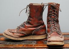Ink and Cowhide: Customizing a Red Wing 877 at Denim Hunters ...