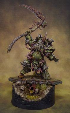 Warhammer 40K Typhus - Herald of the Plague God