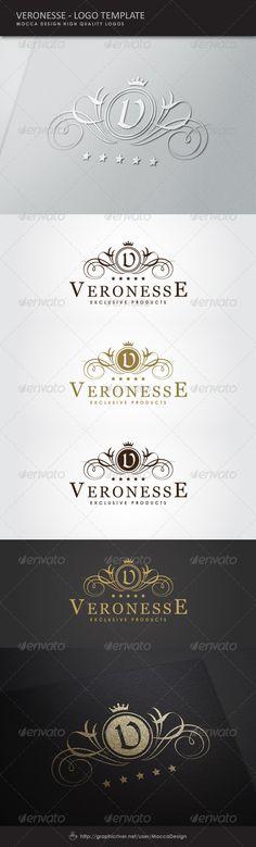 Veronesse Logo - Crests Logo Templates