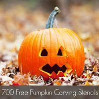 700 Free Pumpkin Carving Stencils