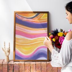 The Flow State, Contemporary Art by InfiniteMantra. Cosmic wall art, Soft pastel wall art, Abstract Painting Print, Large Fine Art Print, Modern Abstract art. A one of a kind piece of art that will bring color and life to bedroom, living room, home office, any room. My art is inspired by dreams, taking you to a magical realm where anything is possible. #yogaart #homedecorating #kitchenwalldecor Contemporary Art Prints, Fine Art Prints, Flow State, Yoga Art, Wall Decor, Wall Art, Beautiful Wall, Cosmic, Painting Prints