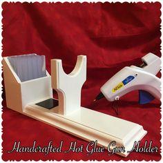 Large Glue Gun Holder Glue Gun Stand Glue by BellaDecoCreations