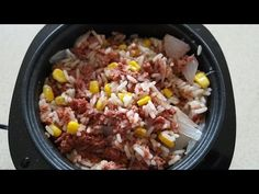 Perfect Cooker Recipes, Rice Cooker Recipes, Healthy Turkey Recipes, Jamaica Food, Healthy Rice, Beef And Rice, Corned Beef, Rice Noodles, Brown Rice