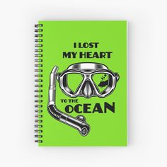 I Lost my Heart to the Ocean by StudioIdea | Redbubble Losing Me, My Heart, Embellishments, Lost, Ocean, Stickers, Writing, Paper, Ornaments