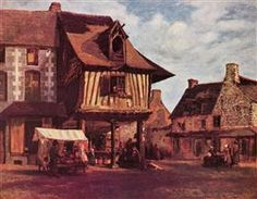 Market in the Normandy - Theodore Rousseau 1845-1848