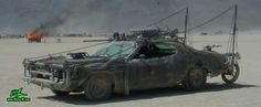 Photo of Vector a Post Apocalyptic Wasteland, Road Warrior, Death Race, Zombie Attack, Assault Vehicle, Mad Max Interceptor like, Mad Maxed Post Apocalyptic Wasteland Road Warrior - For more photos and info visit www.MisterW.com