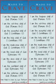 Made to Crave Book Study - Week 3 Bible Scriptures, Bible Quotes, Crave Quotes, Made To Crave, Online Bible Study, Christian Life, Christian Quotes, Book Study, Scripture Study